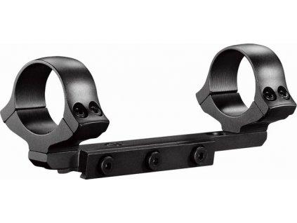 montáž č.4 - Brno Effect CLASSIC, 1-díl., pro šínu šíře 14mm (Varianta s okem velikosti 26 mm, výška 6 mm)