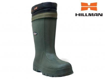 Lovecké holínky Feather Boots b. zelená (Velikost bot 41)