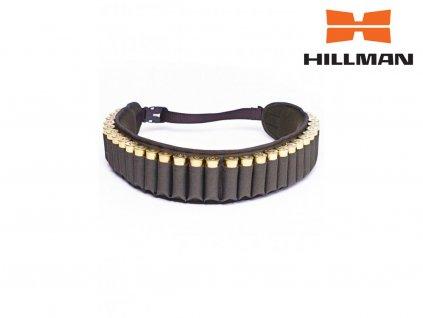 94019 2 hillman cartridge belt nabojovy pas b dub