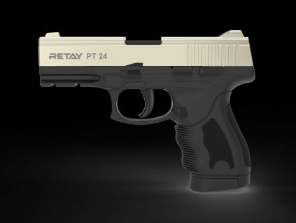 Plynová pistole Retay PT24 9 mm P.A.K. - satén