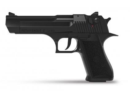 Plynová pistole Retay Eagle X 9 mm P.A.K. - černá