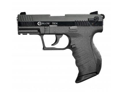 Plynová pistole Blow TR 34 - černá