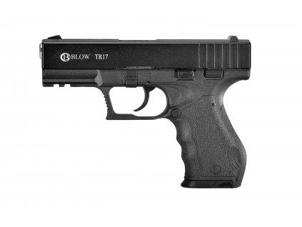 Plynová pistole Blow TR 17 - černá