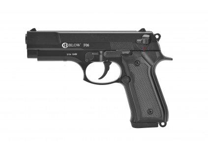 Plynová pistole Blow F06 - černá