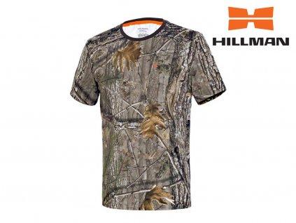 Myslivecké tričko kr. rukáv Cotton b. Kamufláž (Velikost 2XL)