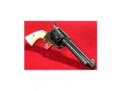 95693 revolver colt model saa raze 45 colt hl 5 5 rytina cerno zlaty