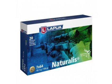 Náboj Lapua 7x64 NATURALIS, N564, Solid, 10,10g, 155gr