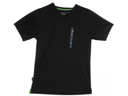 Triko funkční AVS Edge s krátkým rukávem černé M Snickers Workwear