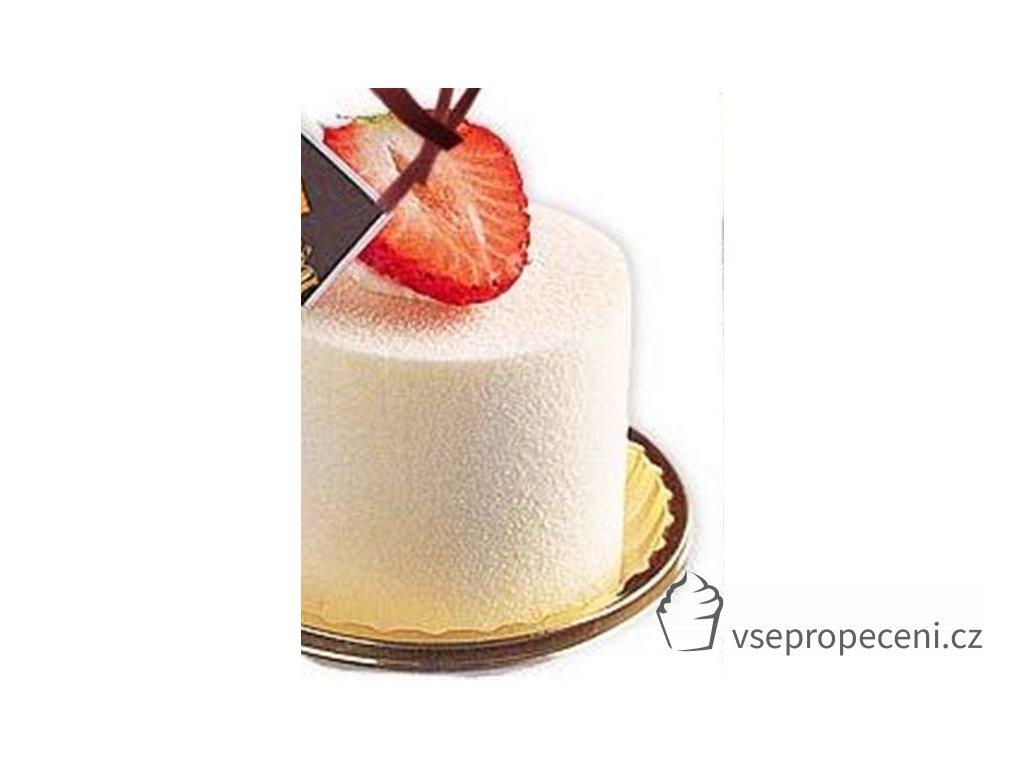 deco velvet white