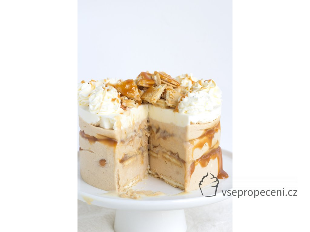 peanut butter caramel oreo ice box cake 5