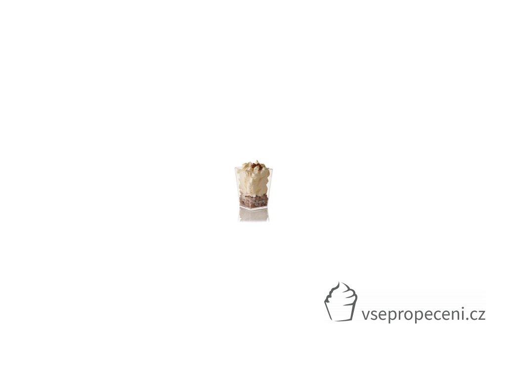 fingerfood kubek kubik 160ml transpar