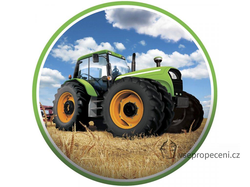 Tortenaufleger Traktor