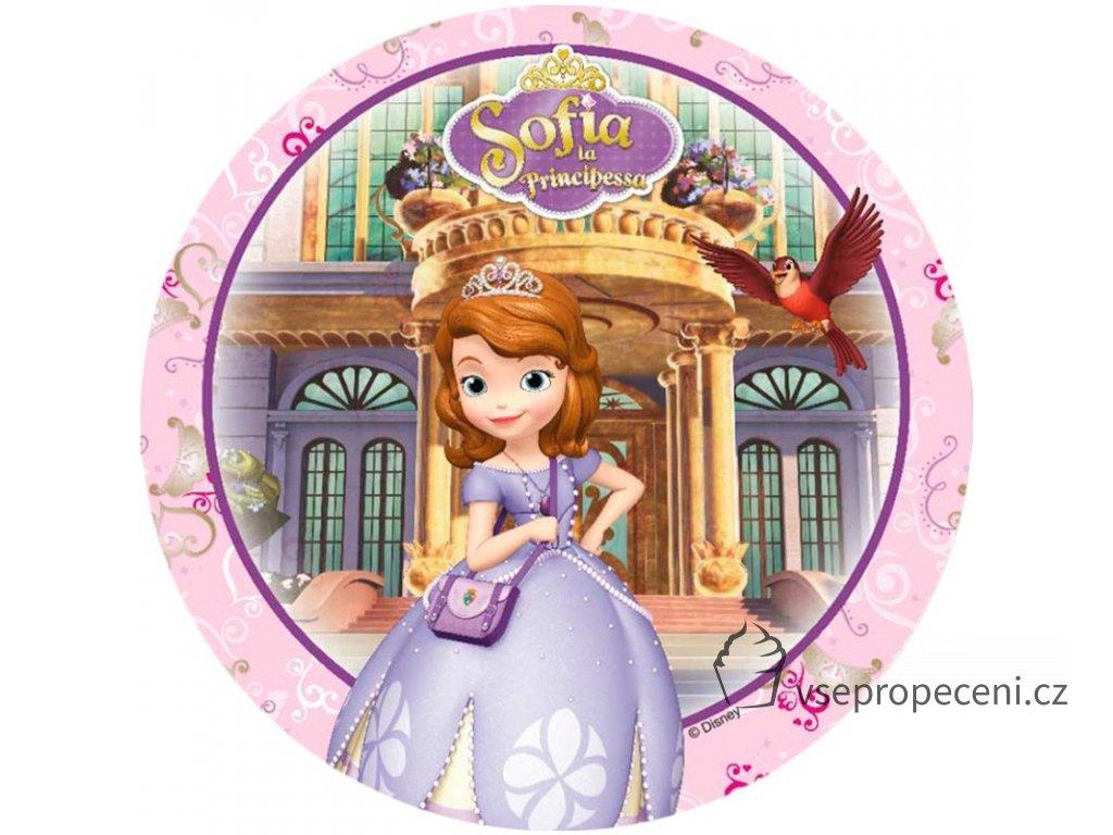 oblea princesa sofia 3 modecor