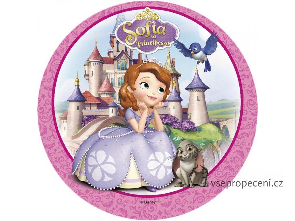 oblea princesa sofia 2 modecor