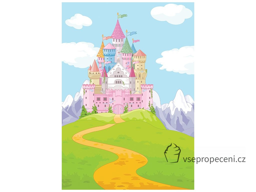 princess castle and road 2