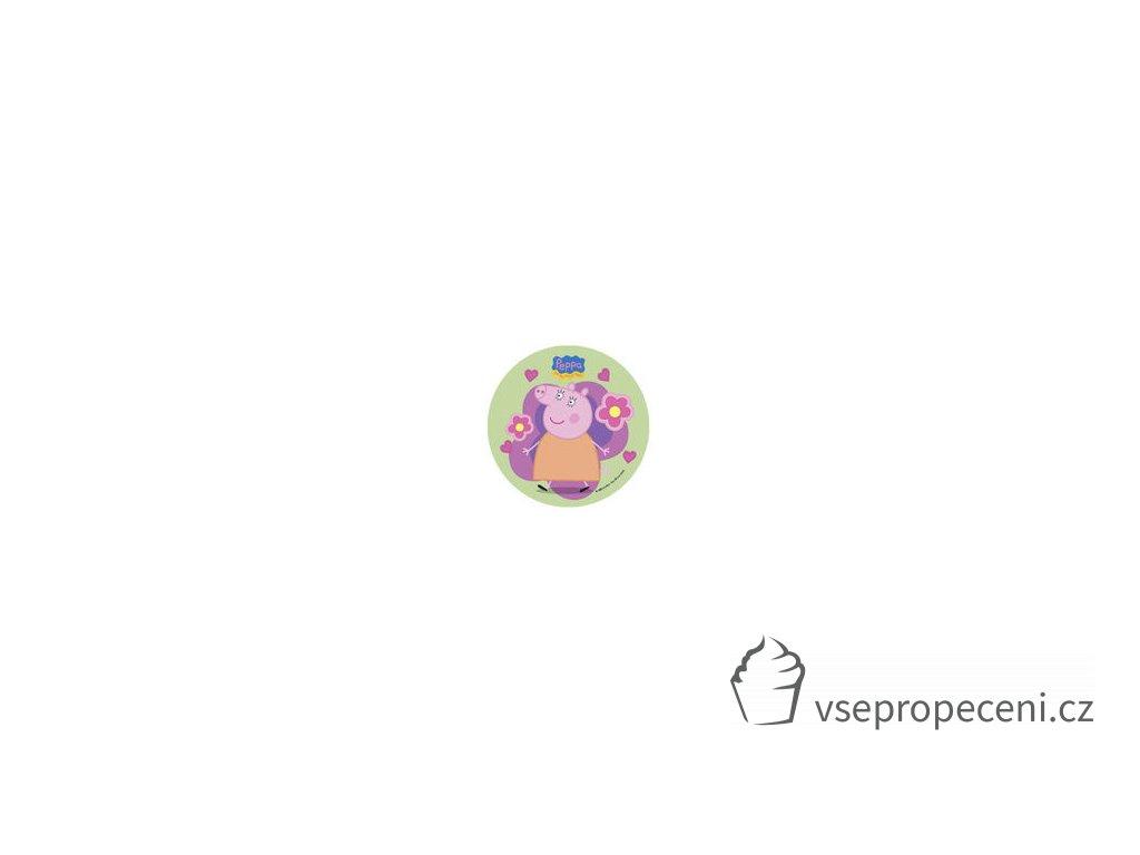 modecor disque azyme peppa pig fleurs 21 cm
