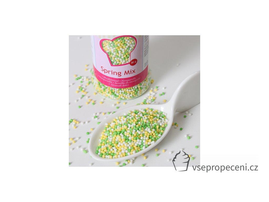 bolitas de azucar colores verdes