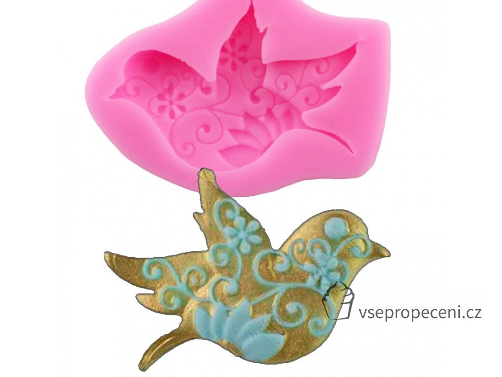 Dove Peace Resin Clay Candy Molds Fondant Chocolate Mold Silicone Cake Moulds Sugarcraft Cake Decorating Tools