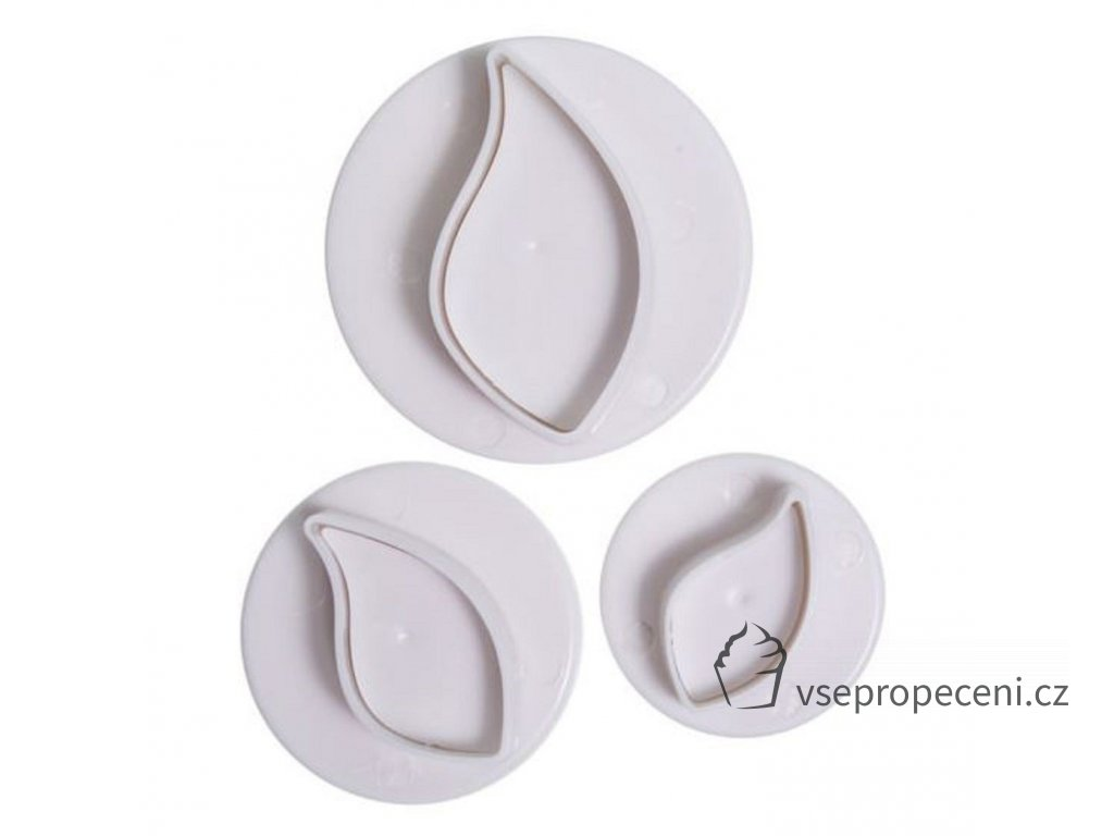 cake star curved leaf plunger cutters 3 pack 5371 p