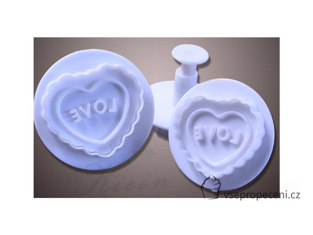 Cortador De biscoitos 1 conjunto amor coração Dia Dos Namorados ofício açúcar molde fondant ferramenta de