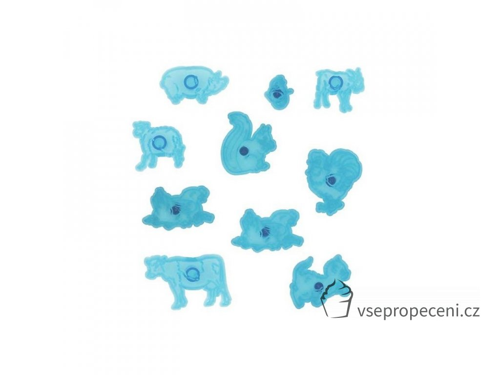 jem animal cutter set 10 pieces