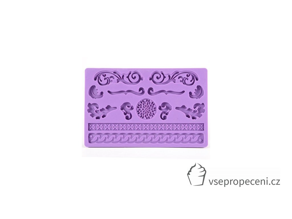 jdbuy lace flower rose leaf shaped silicone mold fondant cake decoration baking tool 227243