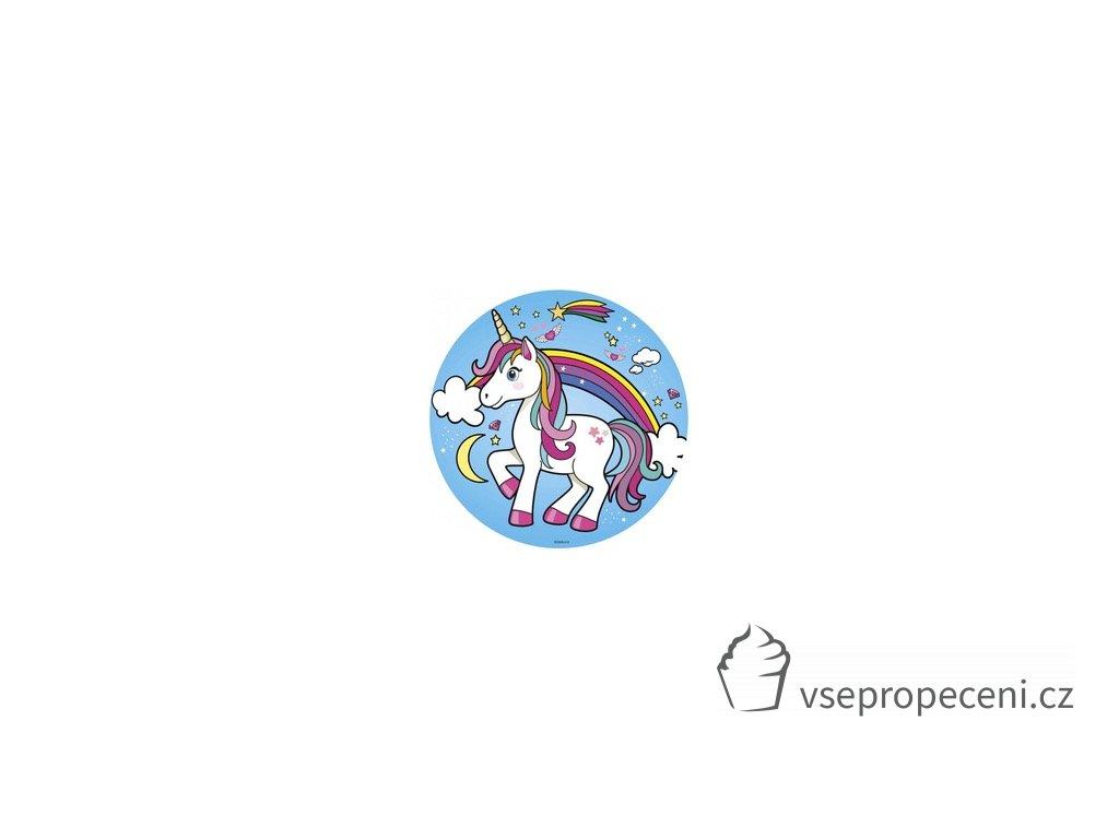 oblea unicornio dekora
