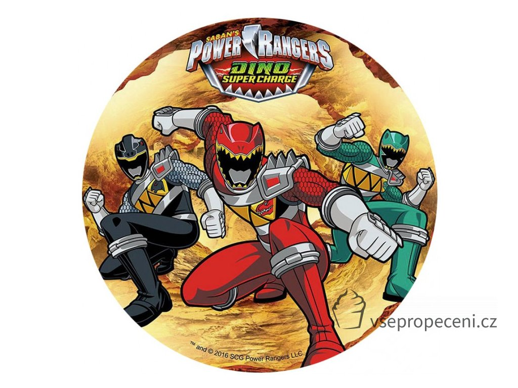 oblea power rangers 3 modecor