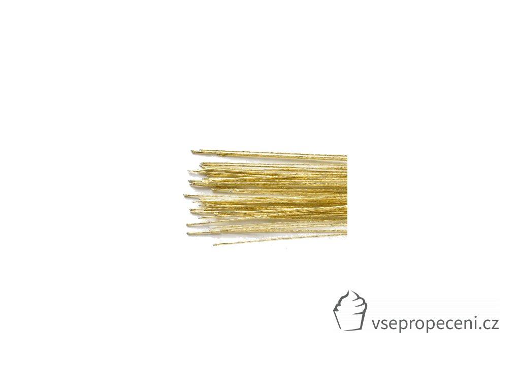 1384gld culpitt floral wire gold