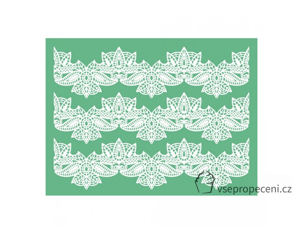 pavoni magic decor original silicone cake lace mat 6 p1029 3515 image