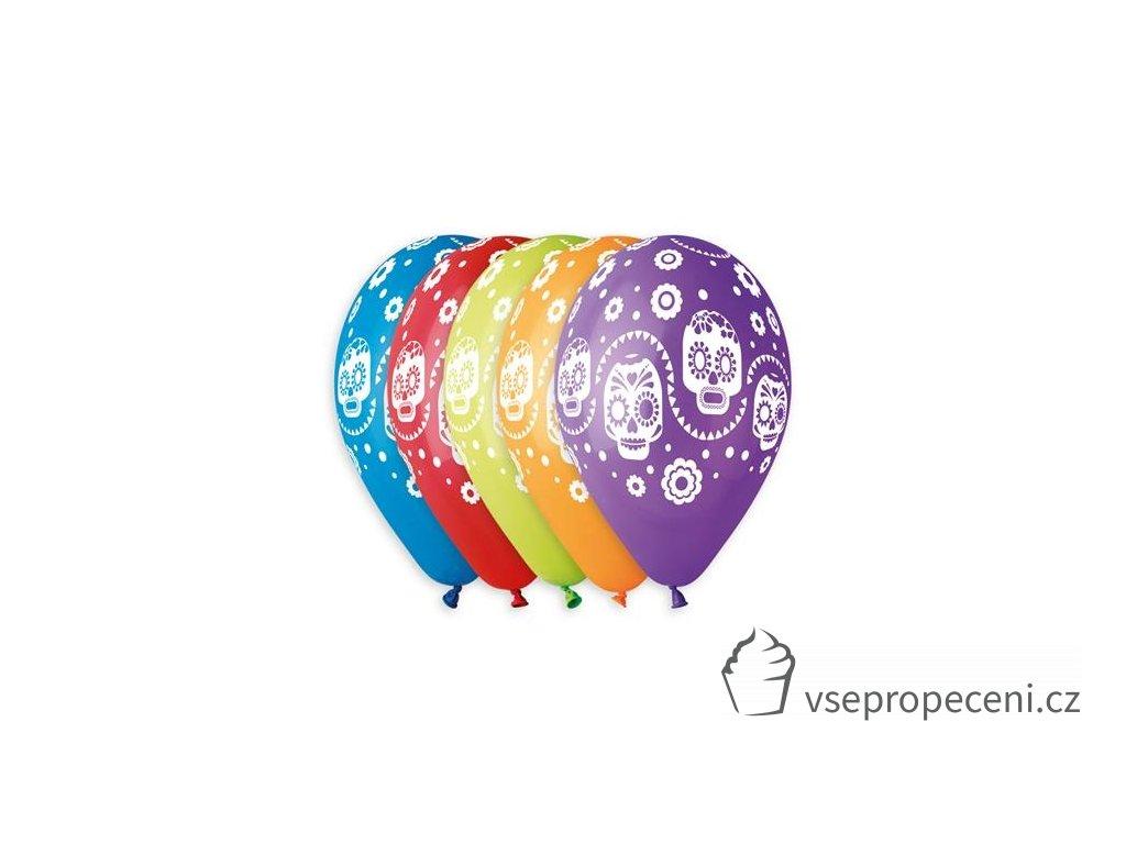0009701 latexovy balonek halloween coco 30 cm