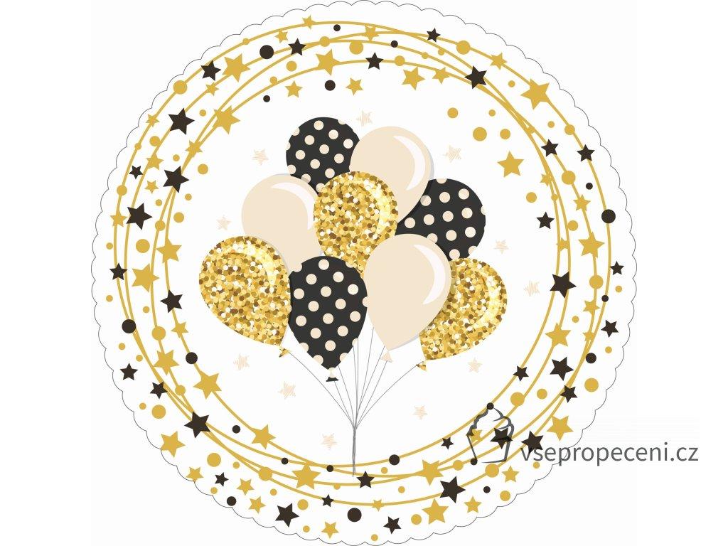 DORTOVÁ PODLOŽKA SMAJLÍCI  27 cm