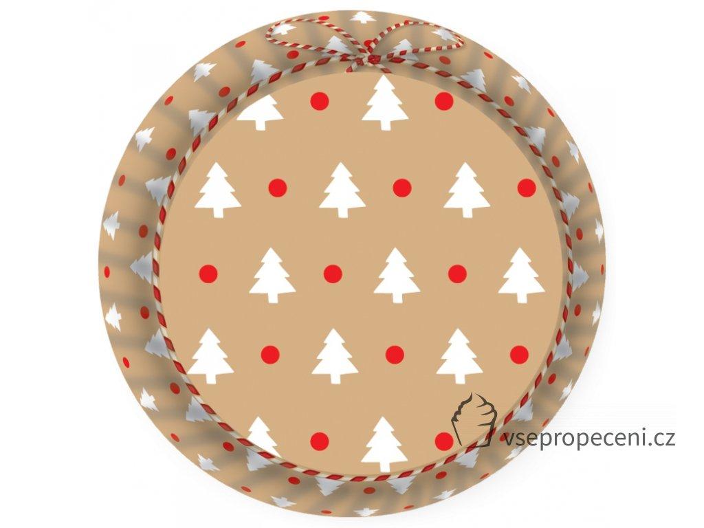 formicky na muffiny a cupcakes 50ks s motivem vanocnich stromecku 20210723074534408339436