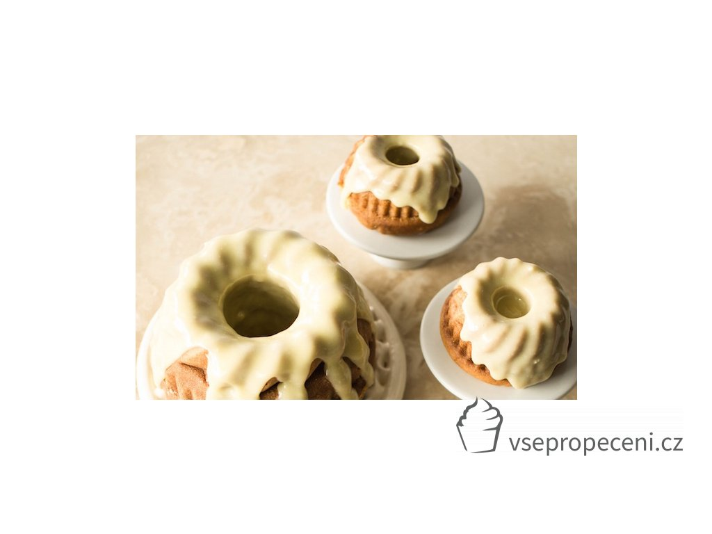 Vanilla Malted Bundt Cake with White Chocolate and Cardamom Frosting 21