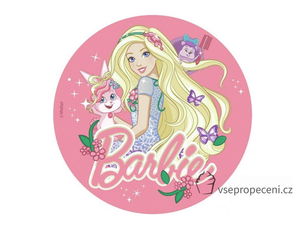 oblea barbie 2 dekora 1