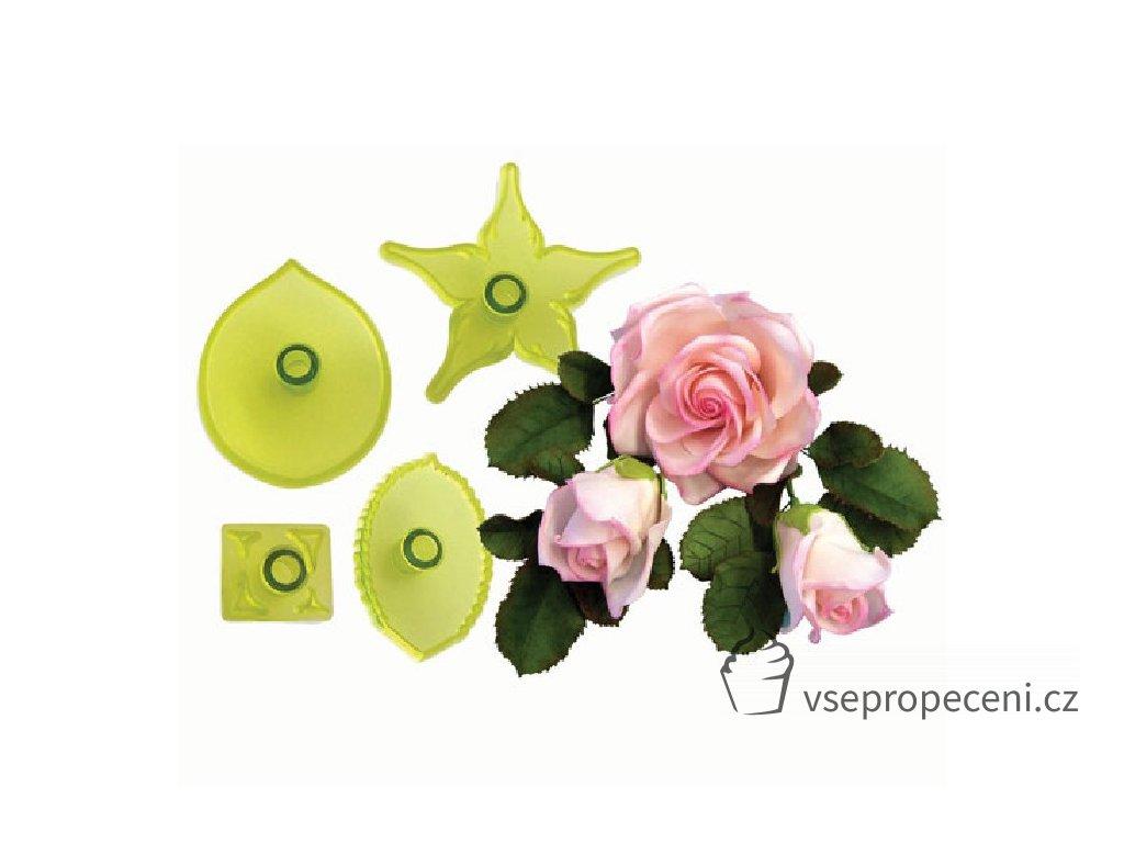 jem large rose cutters set 4
