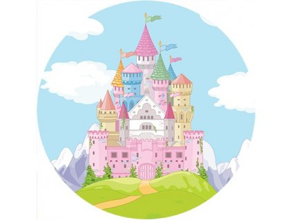princess castle and road round