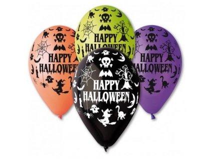 0005836 balonek s potiskem happy halloween 510