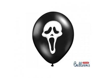 0001961 balonek halloween maska 30 cm 510