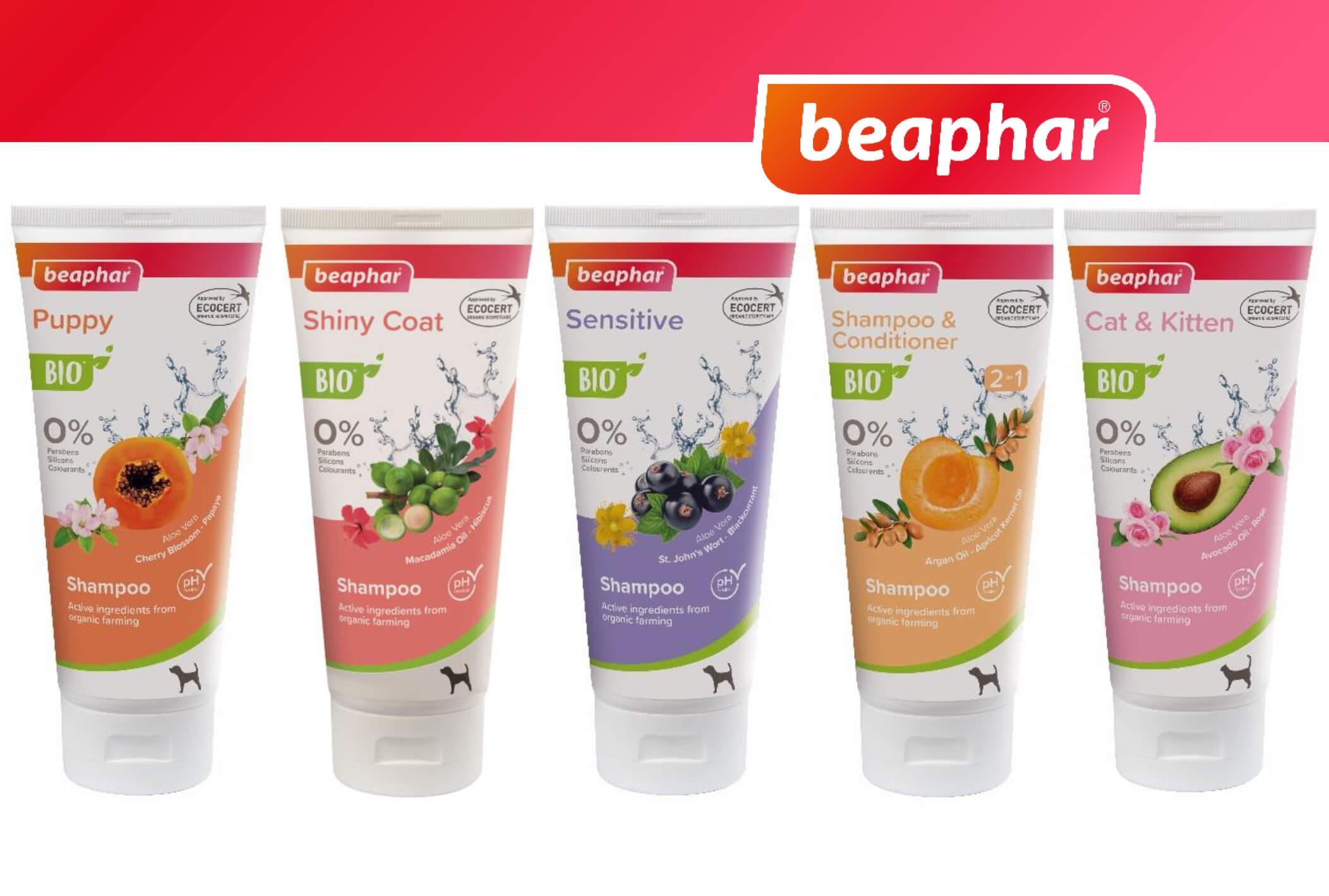 Potěšte své mazlíčky novou řadou francouzské BIO kosmetiky beaphar