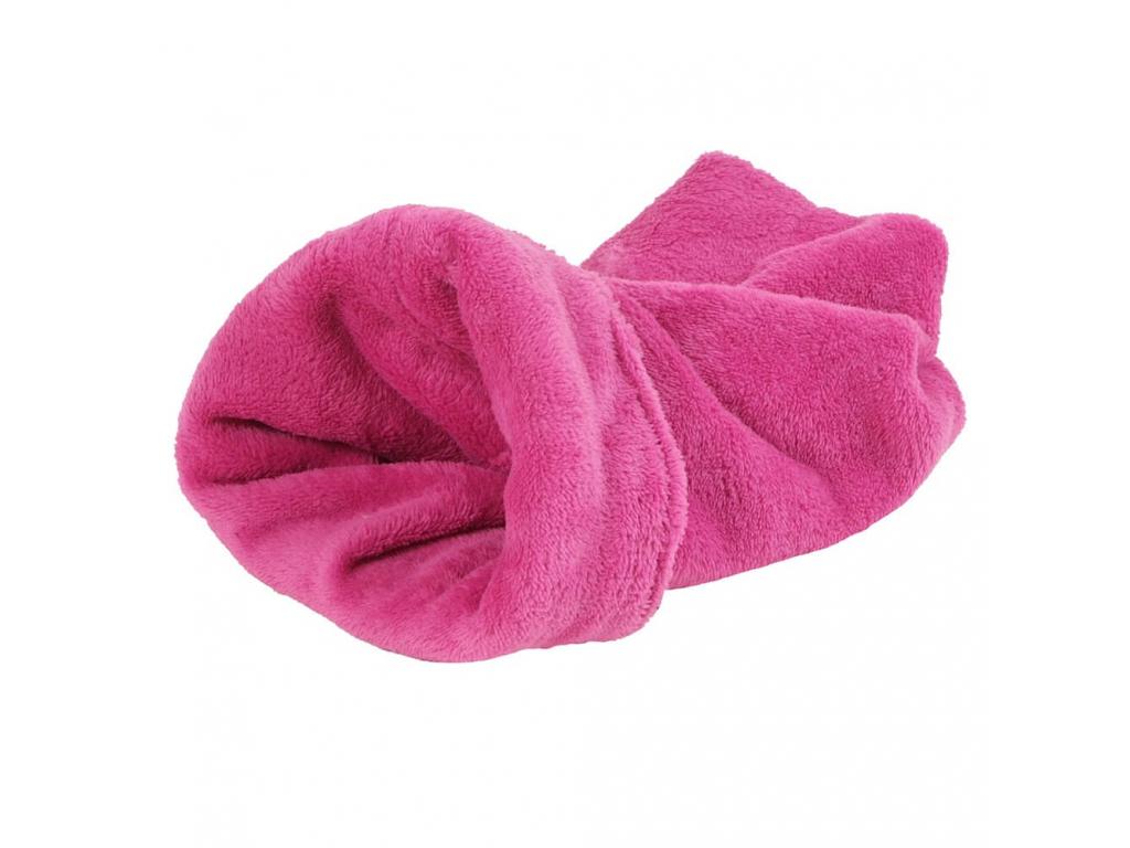 Tulipytlík růžový fleecový pro pejska - tulipytlíky pro psy - vsepropejska.cz