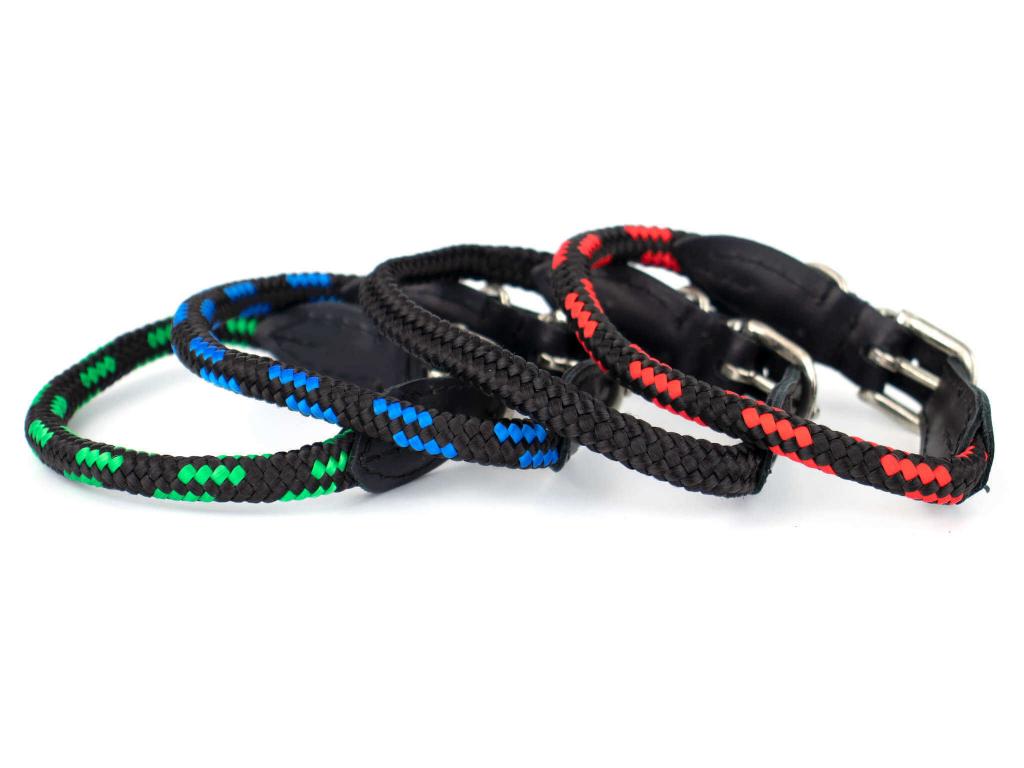 Rope obojek pro psa z lana