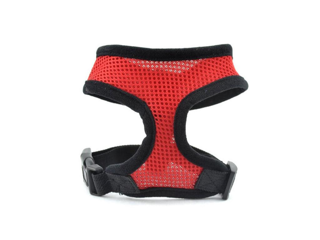 Airy červené síťkované kšíry pro psa