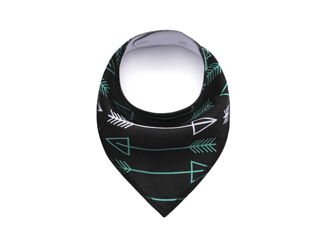 Arrow černý šátek pro psa - šátky pro psy - vsepropejska.cz