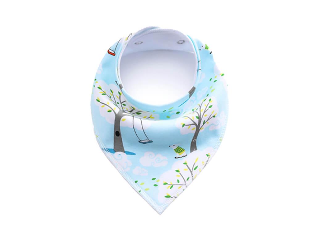 Swing modrý šátek pro psa - šátky pro psy - vsepropejska.cz