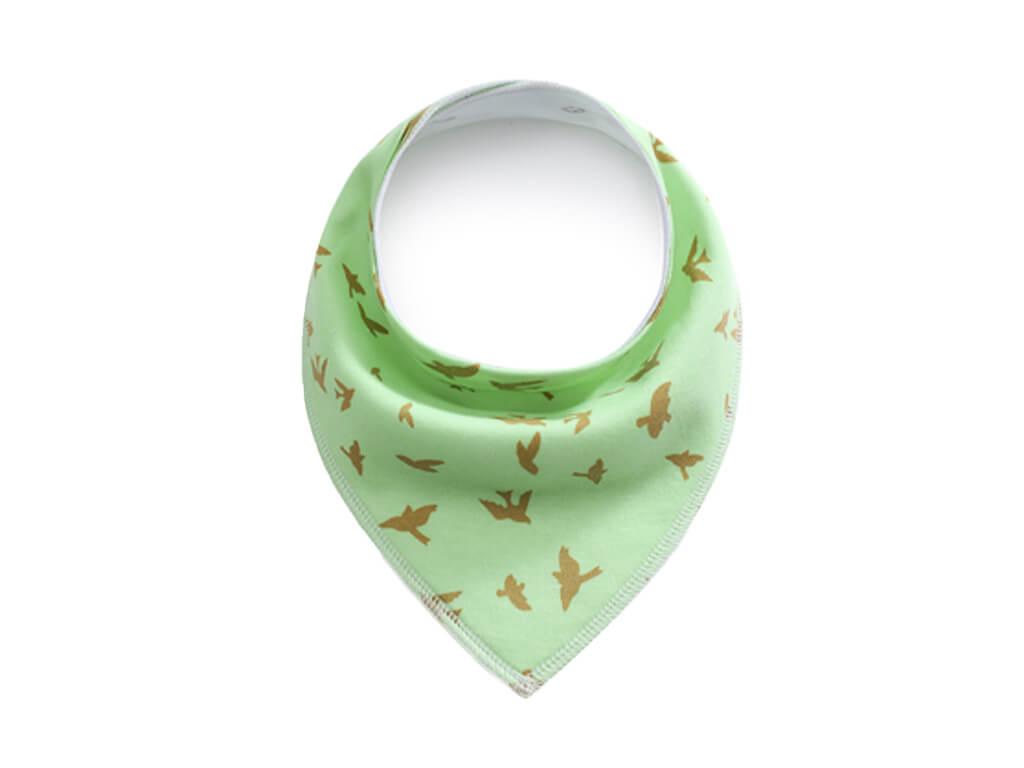 Bird zelený šátek pro psa - šátky pro psy - vsepropejska.cz