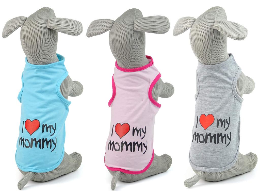 Mommy letní tričko pro psa - oblečky pro psy - vsepropejska.cz