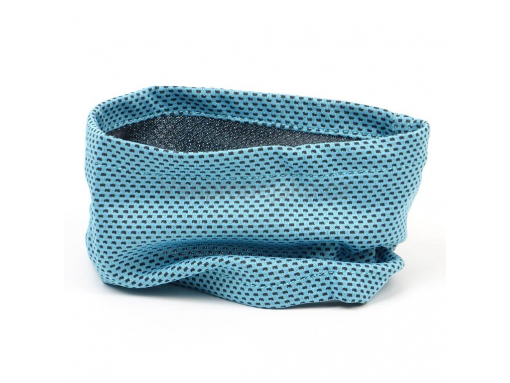 Cold modrý chladící šátek pro psa - šátek pro psy - vsepropejska.cz