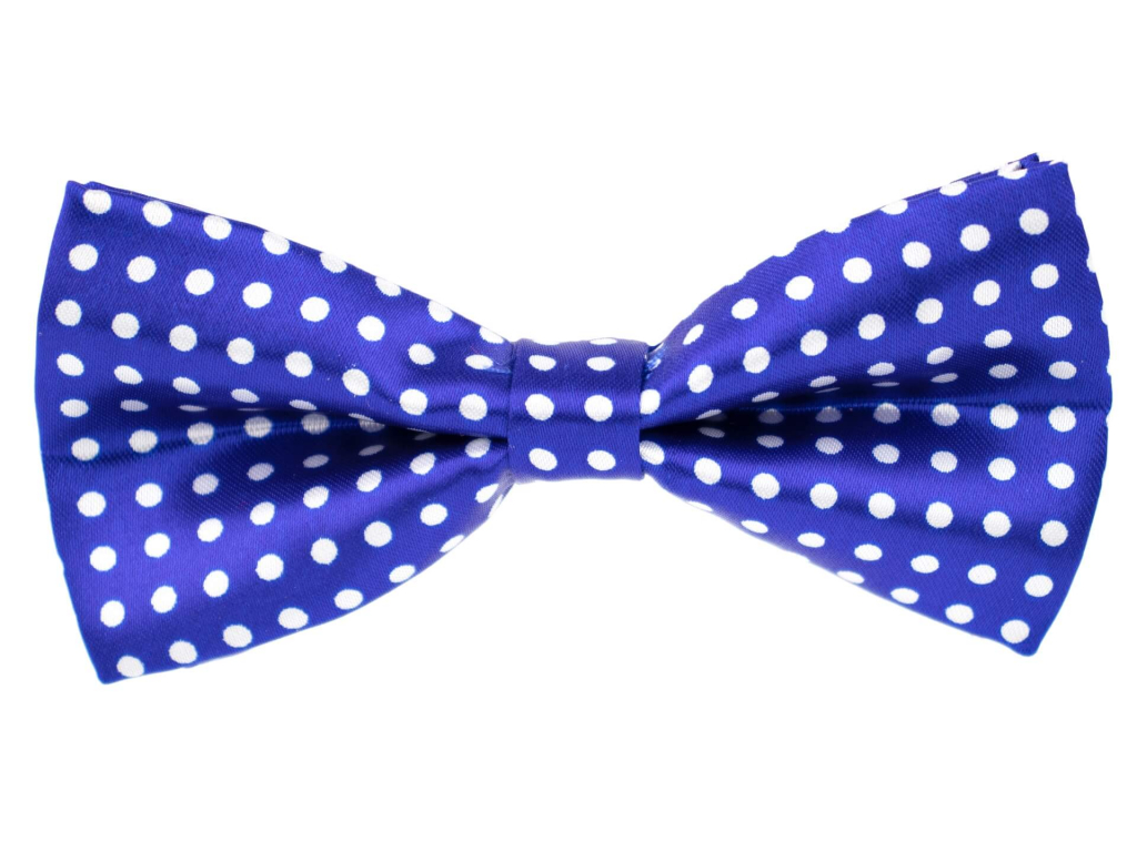 Design modrý motýlek s puntíky pro psa - motýlky pro psy - vsepropejska.cz
