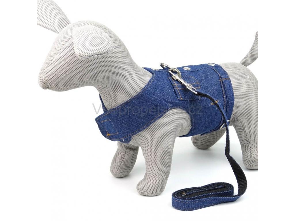 Riflová vesta pro psa s vodítkem